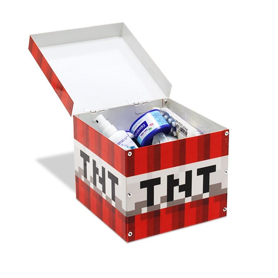 Caixa Baú TNT Pixel