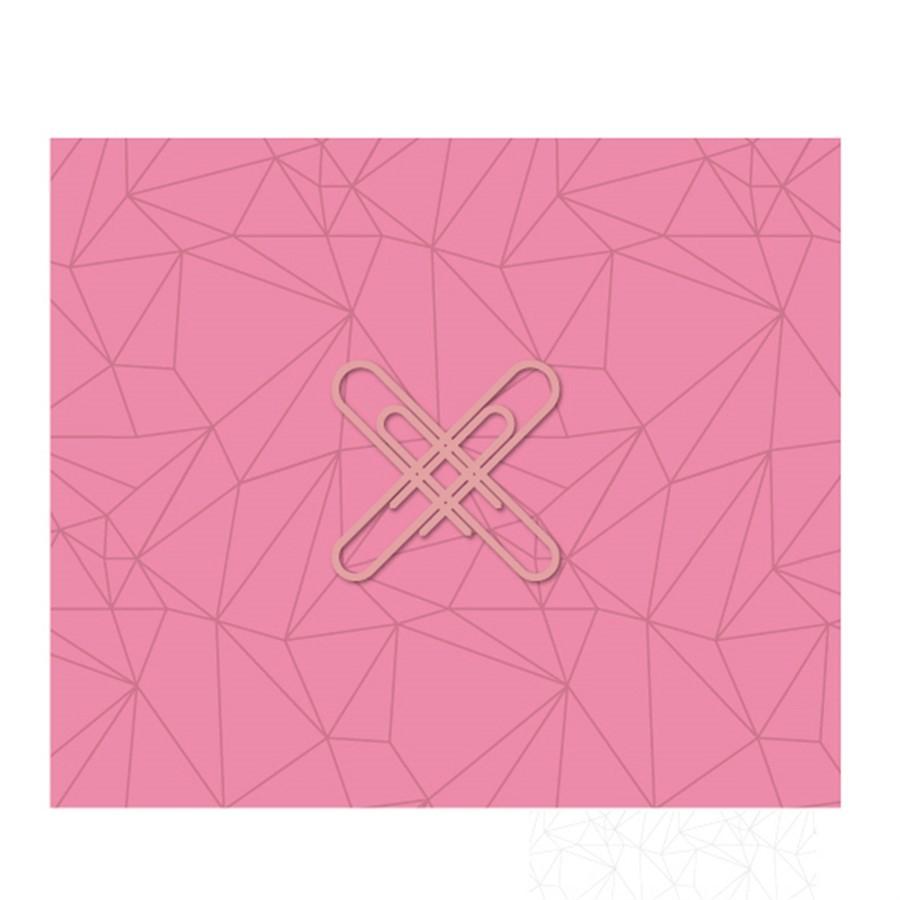 Bloco Conjunto Postiche Rosa