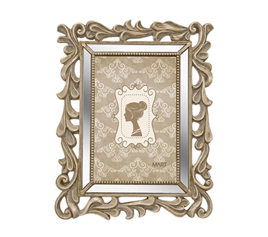 Porta Retrato Champagne 10x15cm