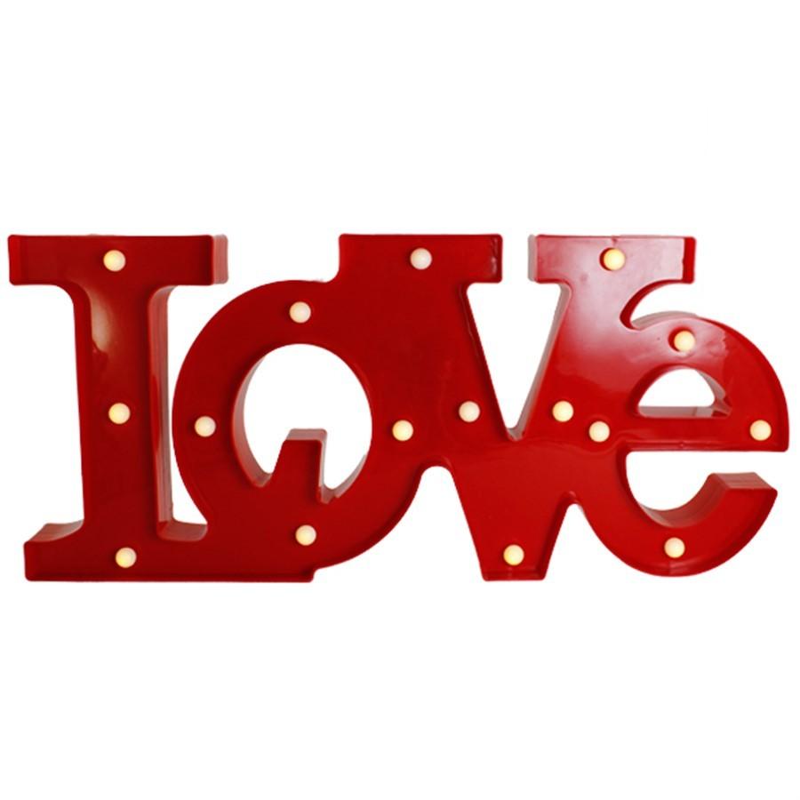 Love Luminoso Vermelho