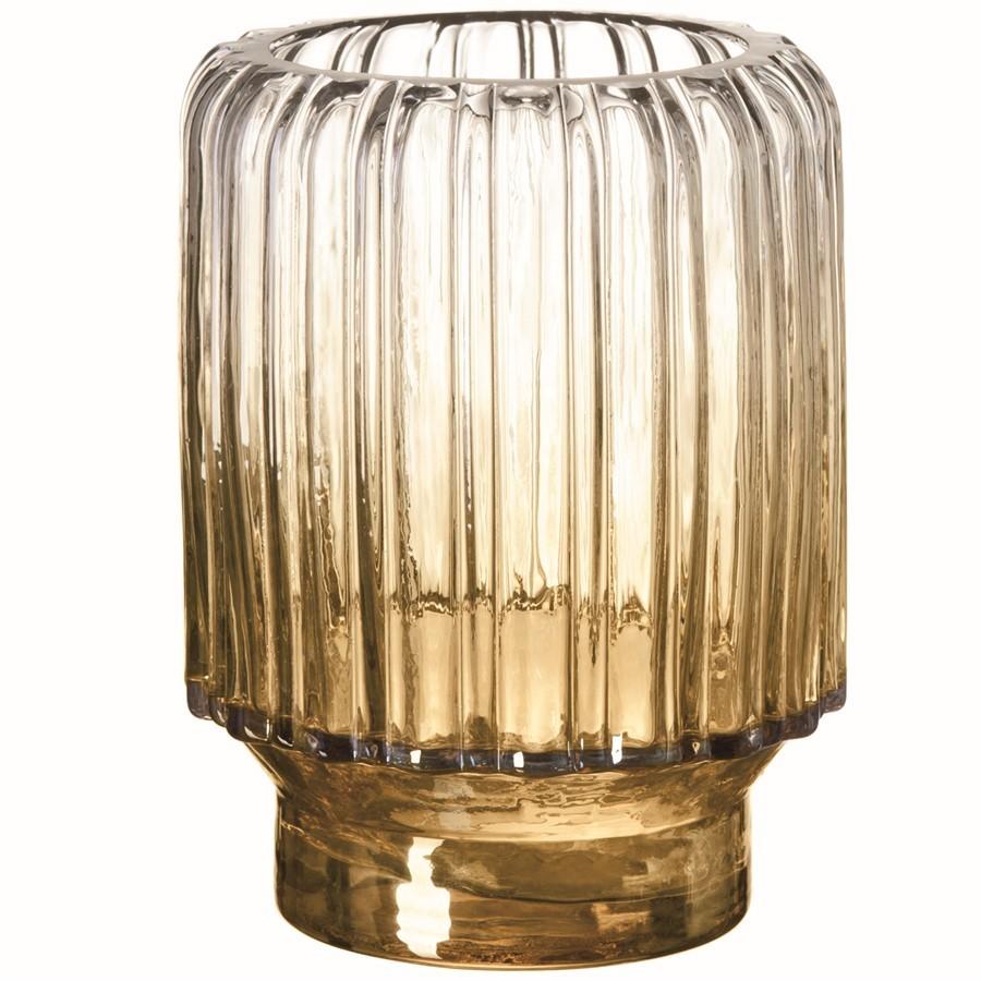 Vaso Degradê Champagne 13x18cm