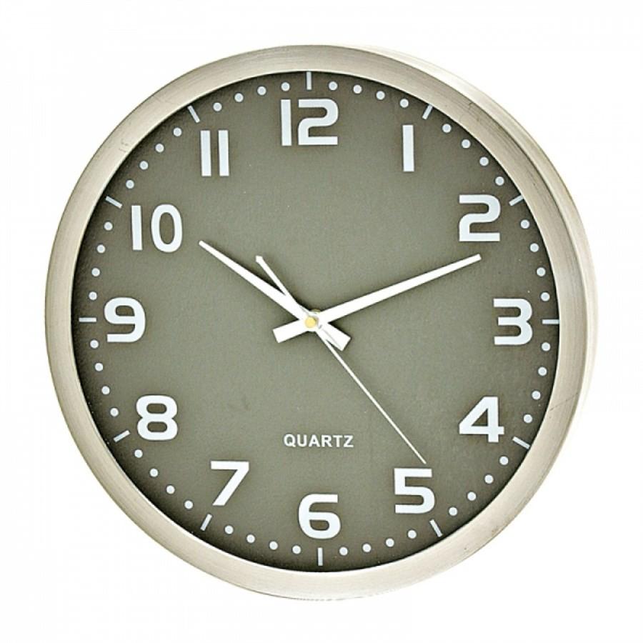 Relógio de Parede Alumínio