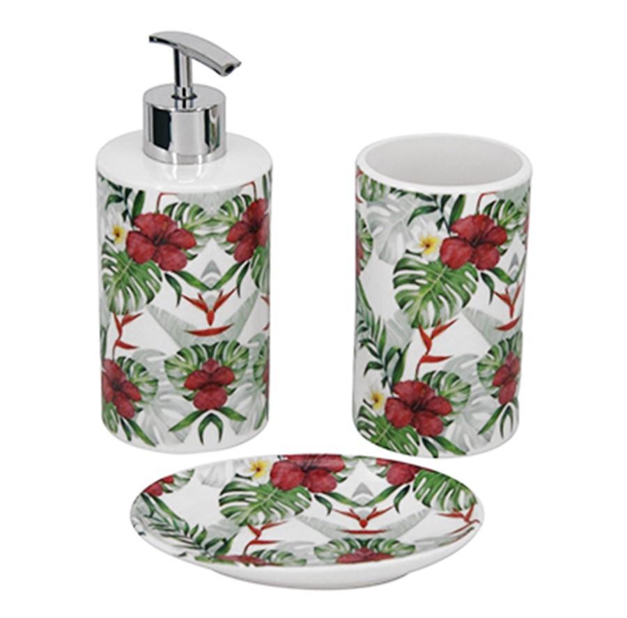 Kit banheiro Flower