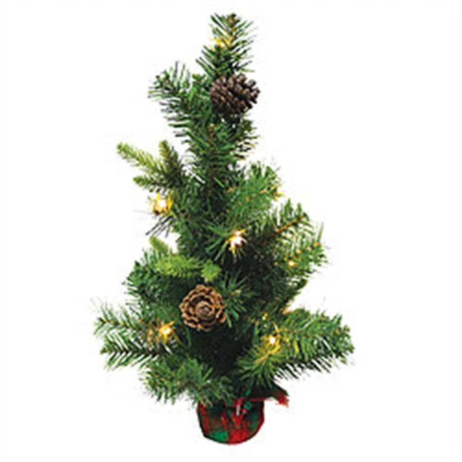 Árvore musical iluminada 45cm