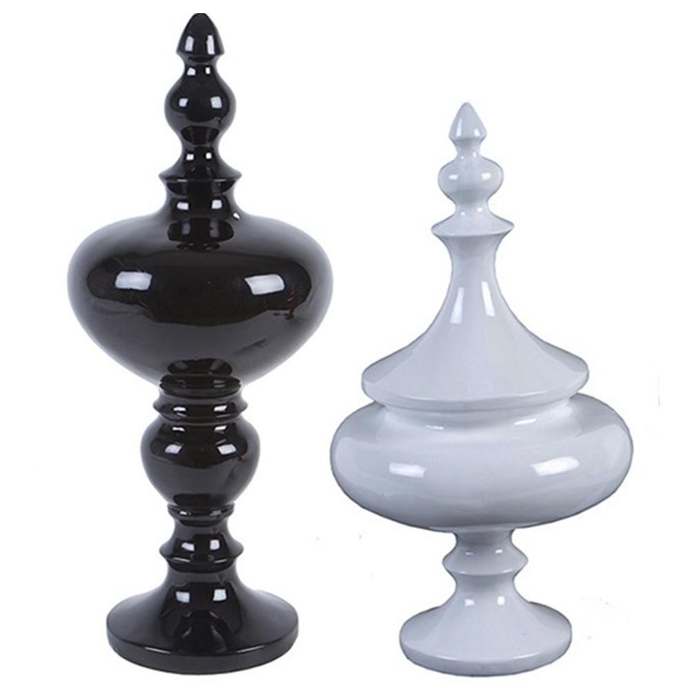 Conjunto de 2 esculturas Pantone