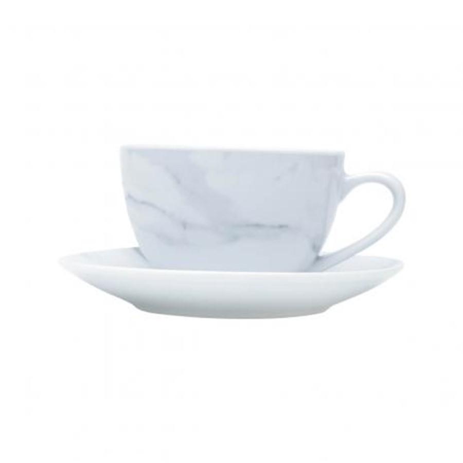Conjunto Xicaras Café C Pires 6 Pçs
