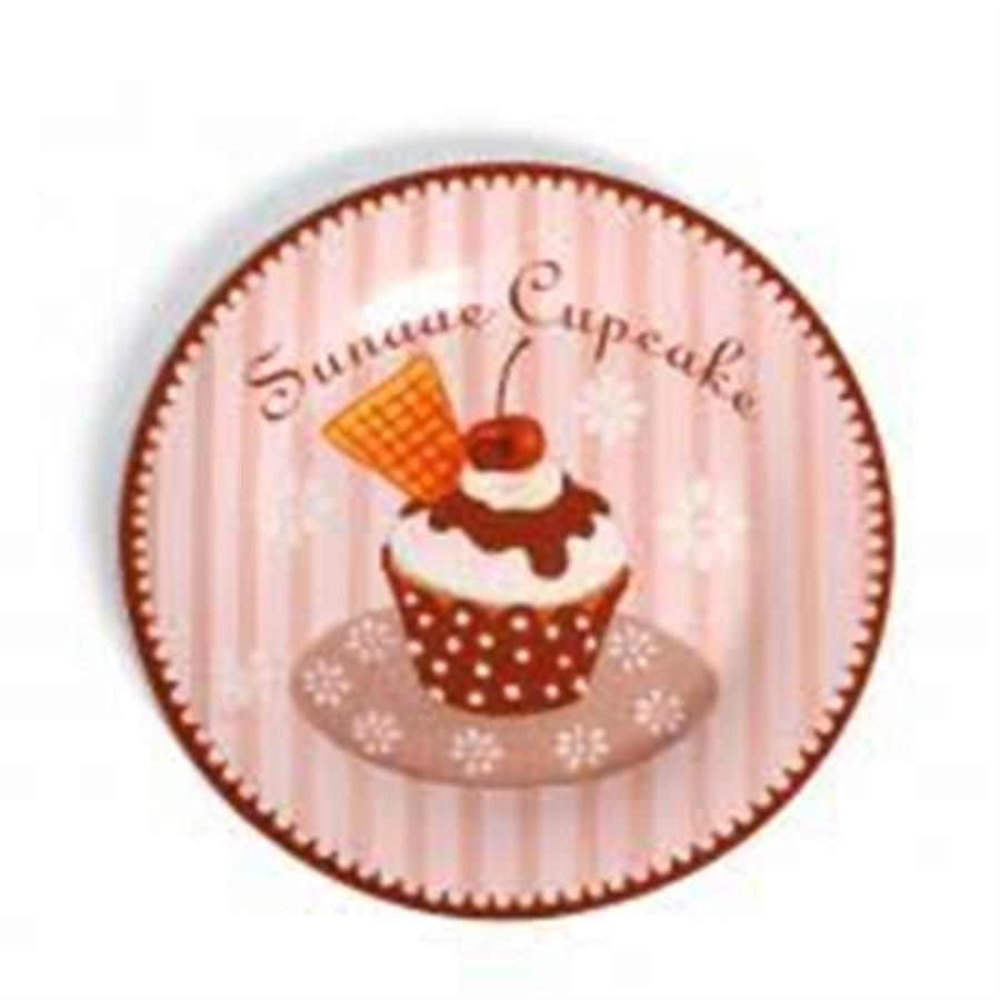 Cj. c/ 4 pratos cup cake