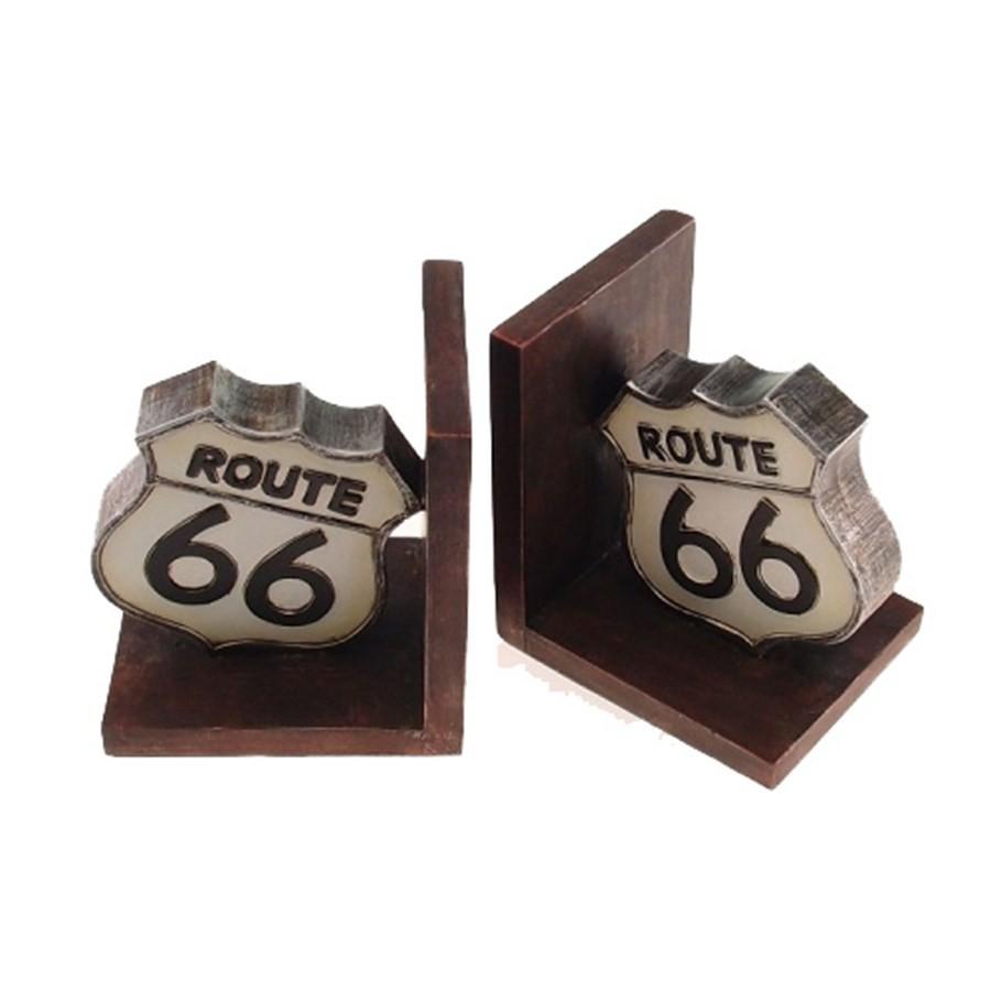 Aparador de Livros Route 66