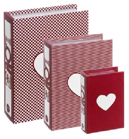 Caixa Livro Coração