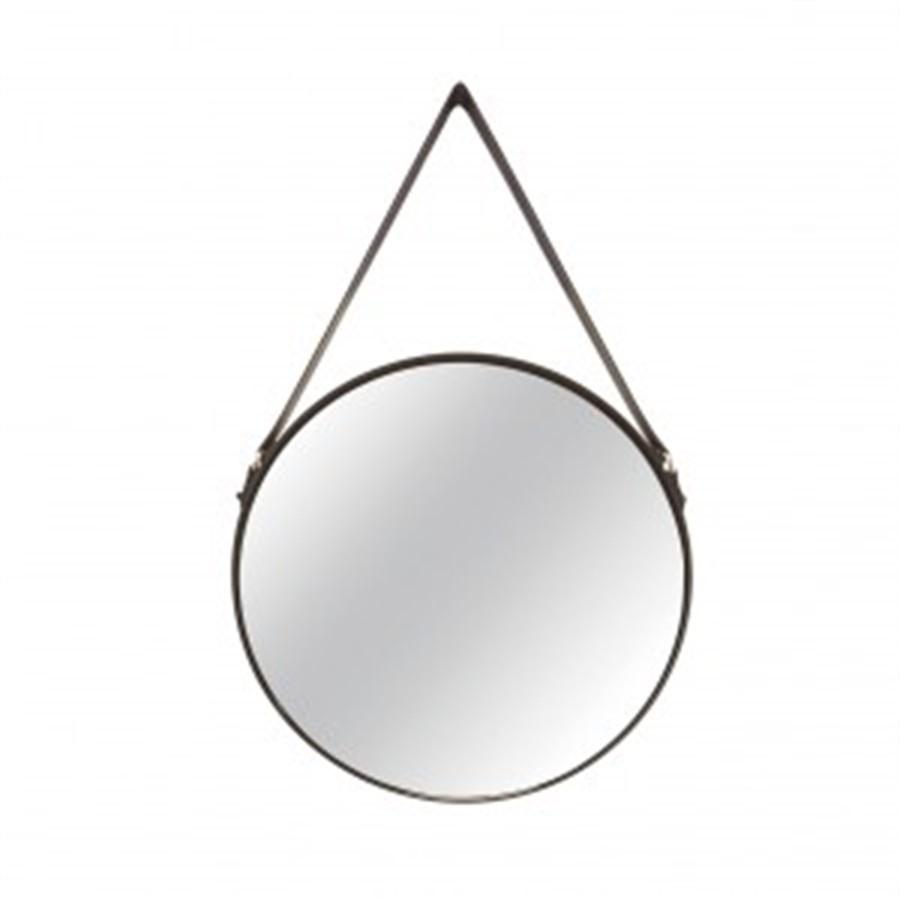 Espelho Redondo Preto l