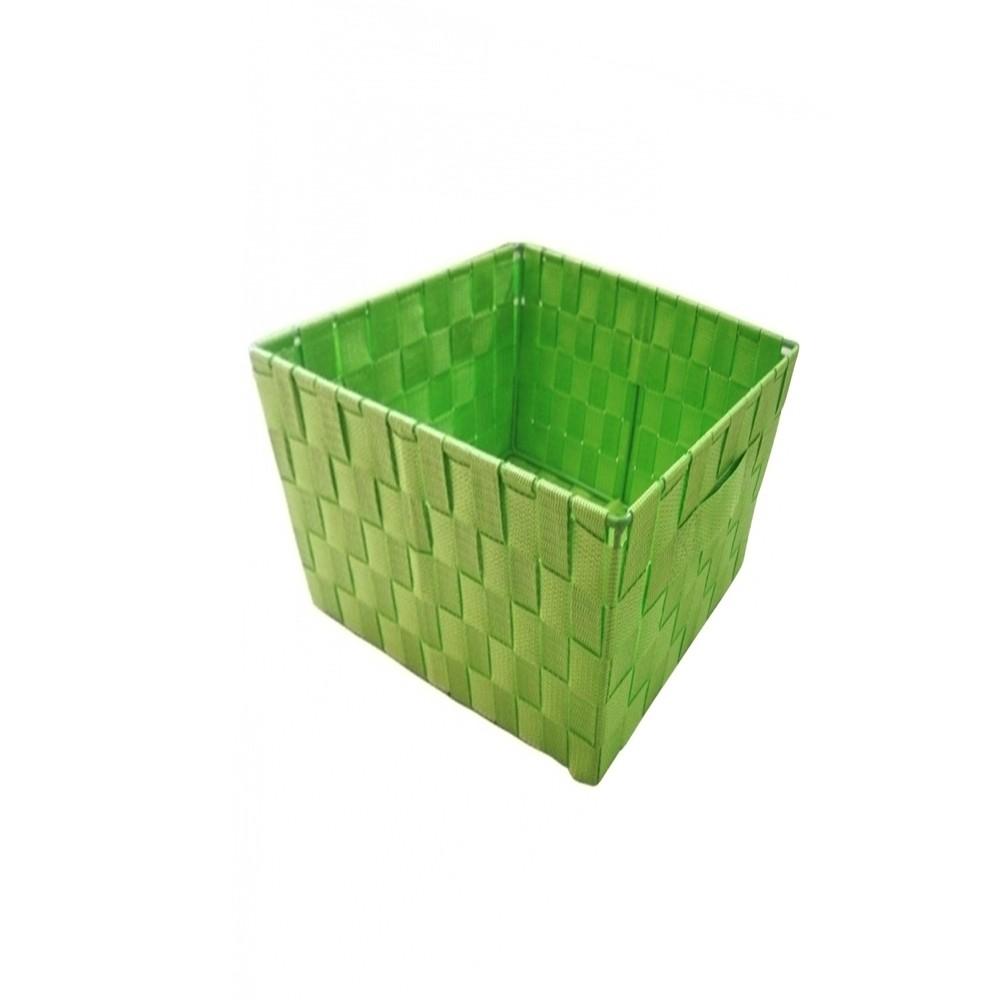 Cesto quadrado Verde