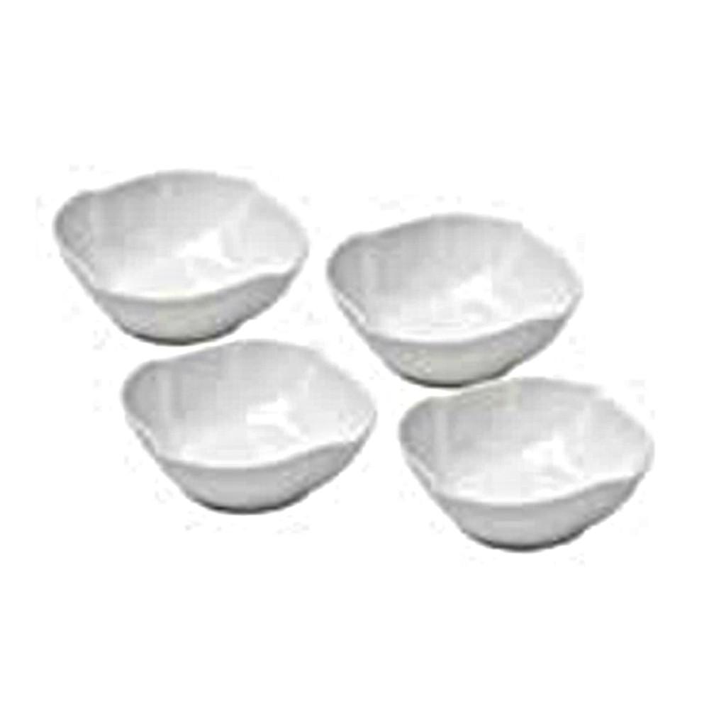 Cj. Bowls Porcelana Branco - 4pcs