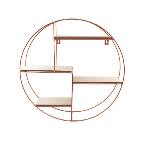 Prateleira Moderna Oval 45x45cm