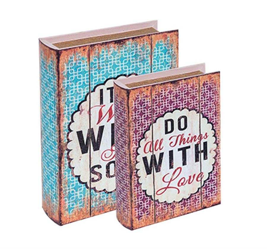 Caixa Livro With Love