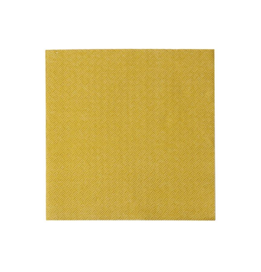 Guardanapo de papel liso dourado