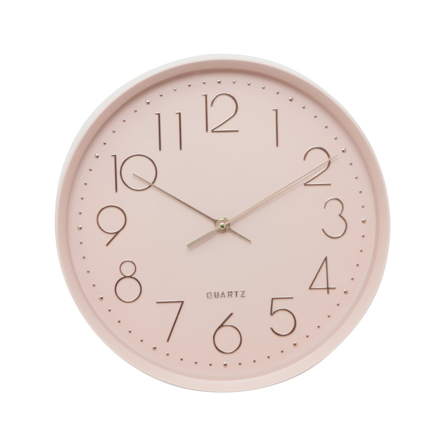 Relógio Edge Rosa 30cm
