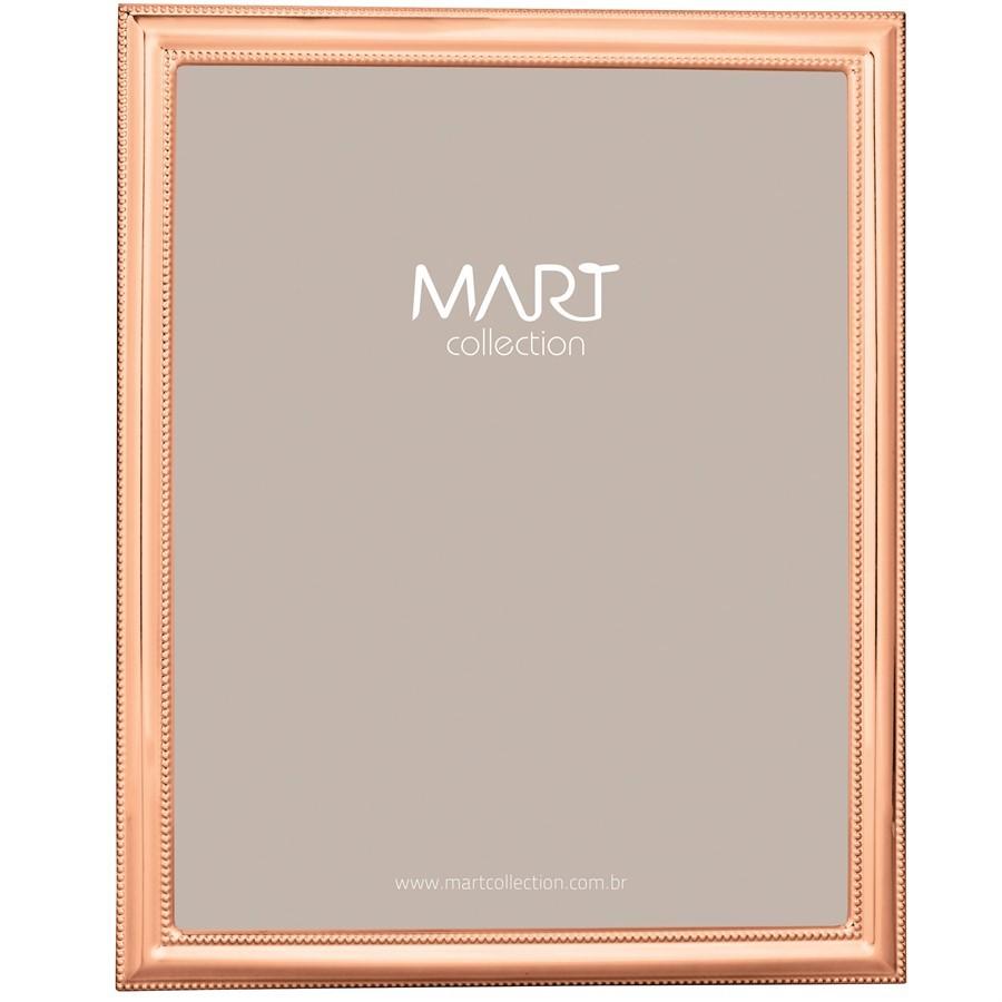 Porta-Retrato Metal Rose Gold III 20x25cm