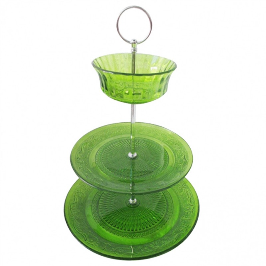 Prato Glass Bowl Verde