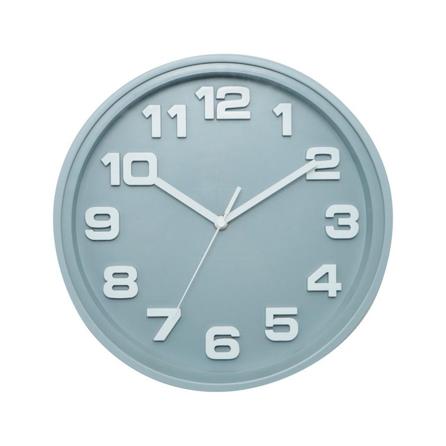 Relógio Thick Cinza 30cm