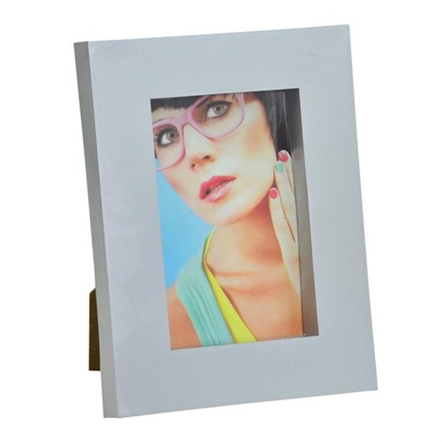 Porta Retrato Cor Prata 13X18cm