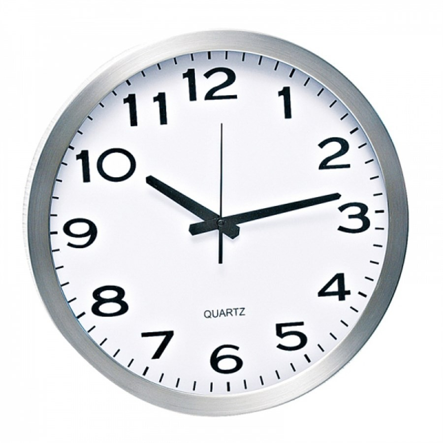 Relógio de Parede Alumínio 40,5CM
