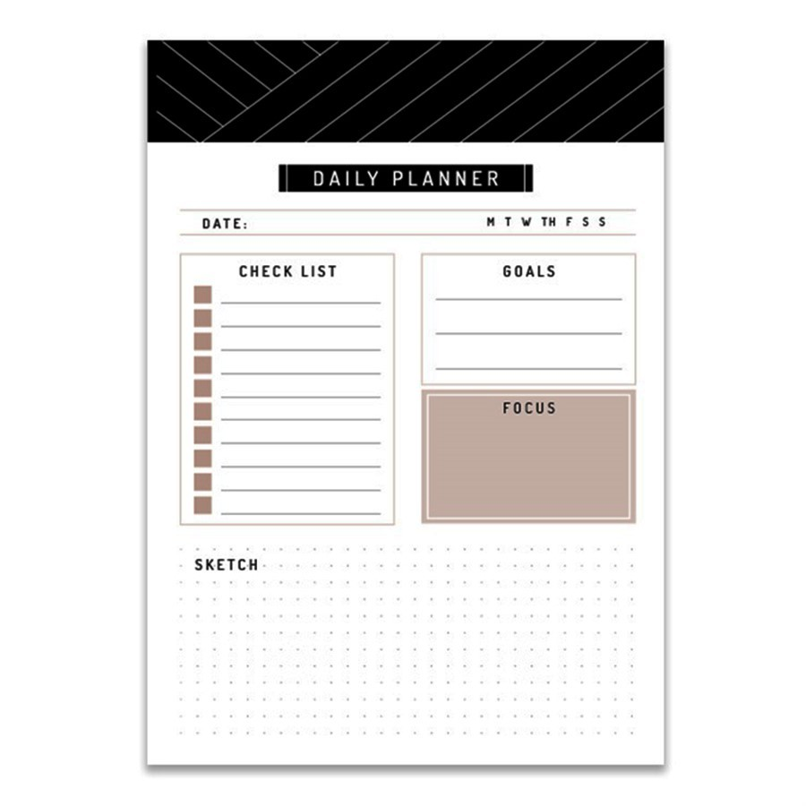 Bloco Daily Planner A5