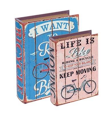 Caixa Livro Riding Color