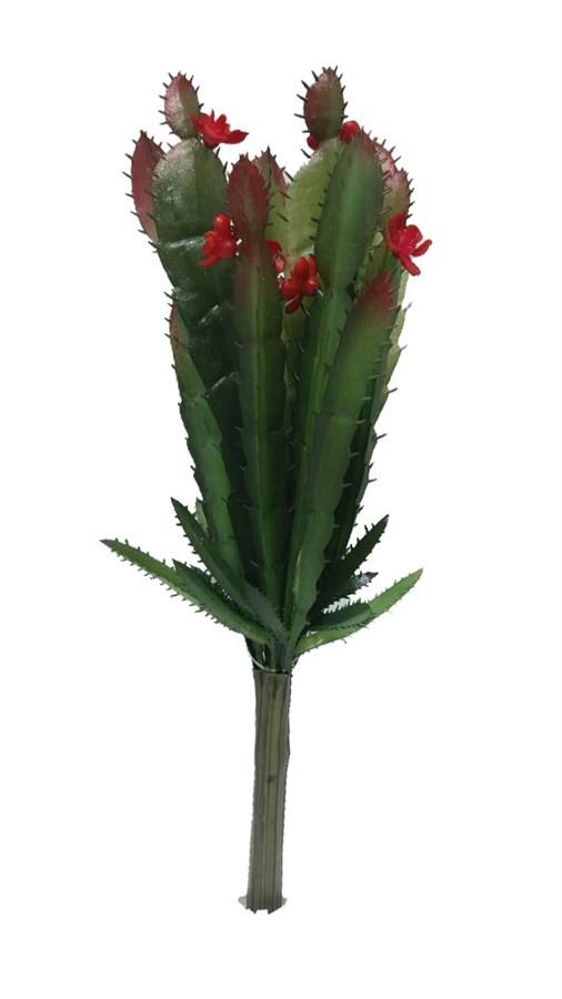 Planta Artificial Cacto Flor