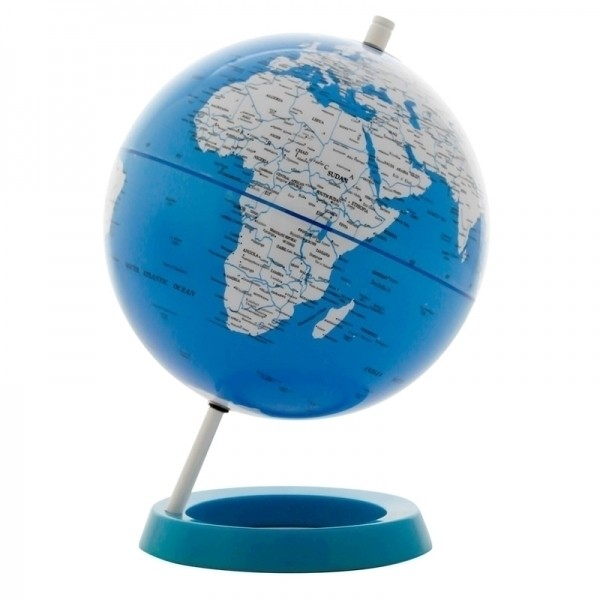 Globo Mapa Mundi Azul