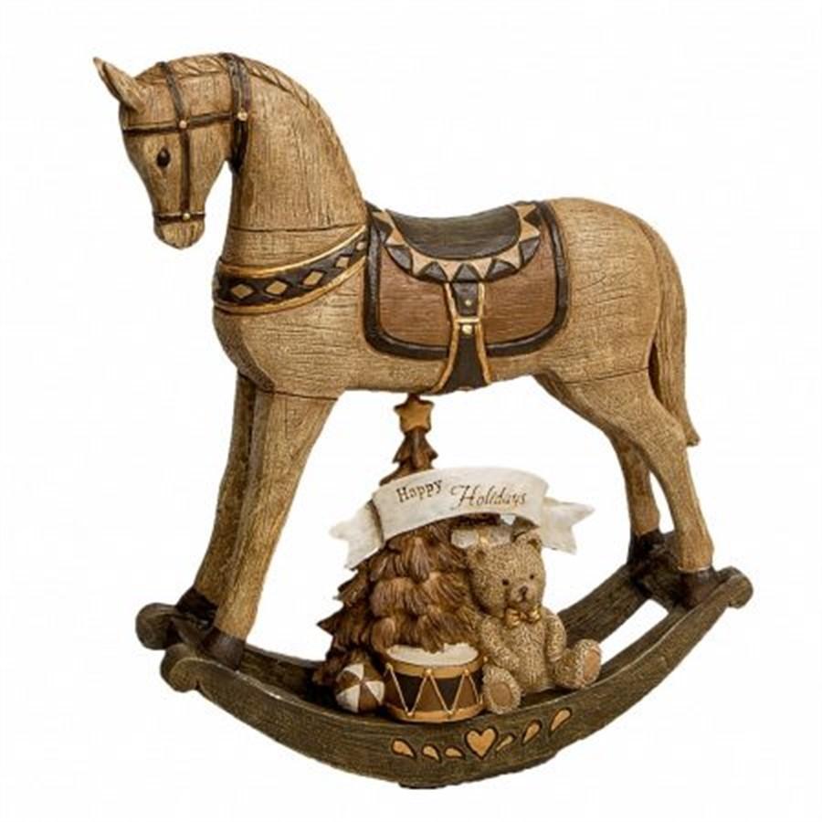 Decor Cavalo Balanço 20cm