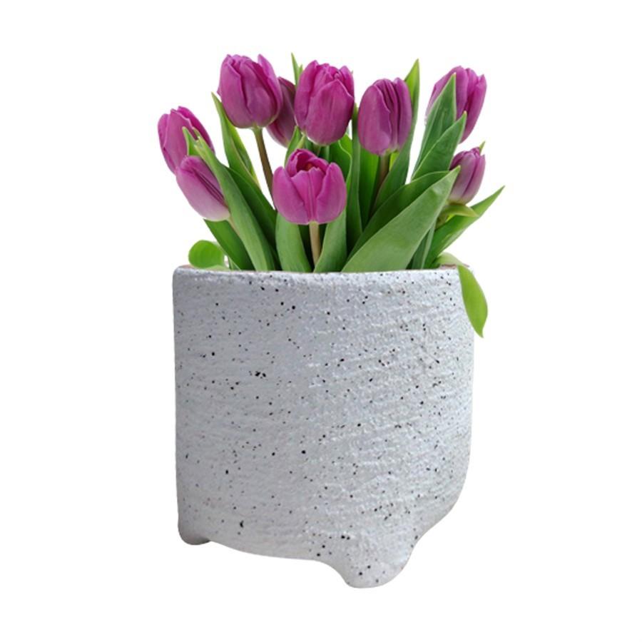Vaso Cerâmica Arenoso G 15 x 14cm
