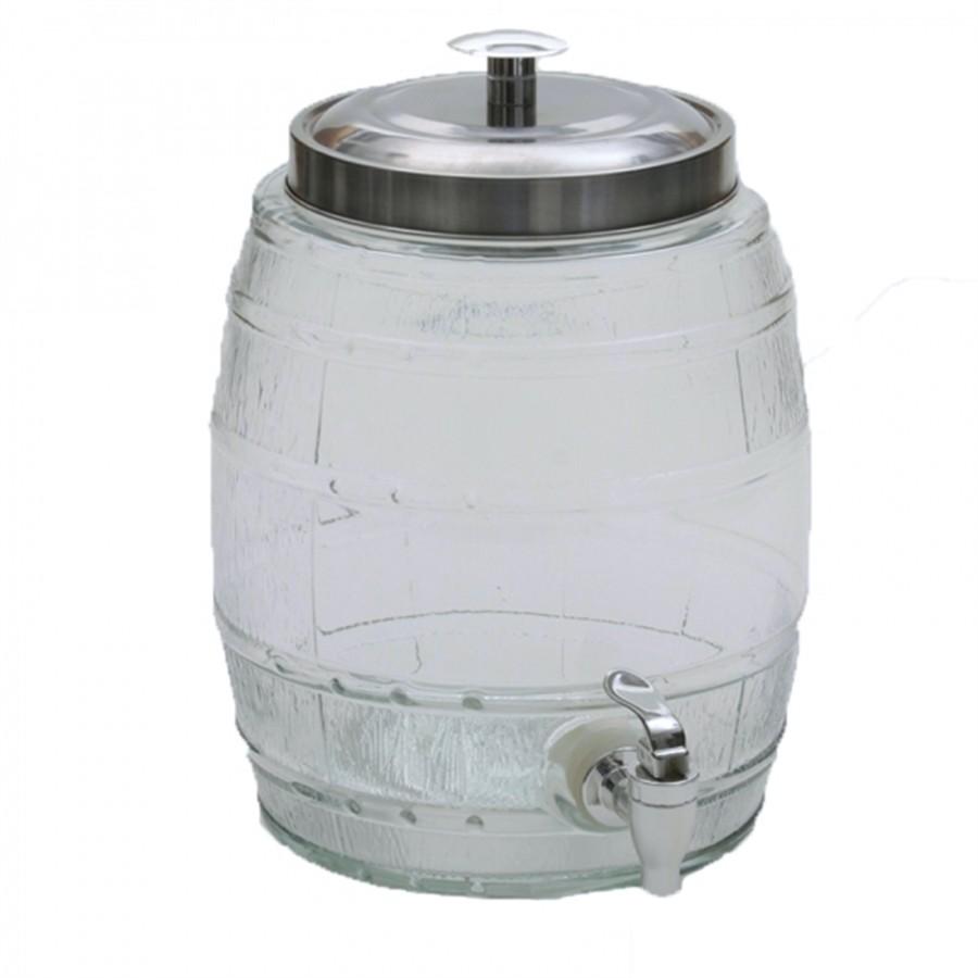 Suqueira de Vidro Médio para Bebidas