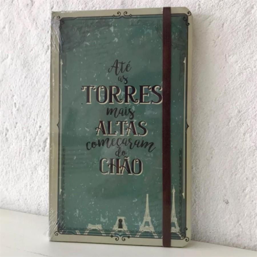 Moleskine Torres Altas 160 folhas..