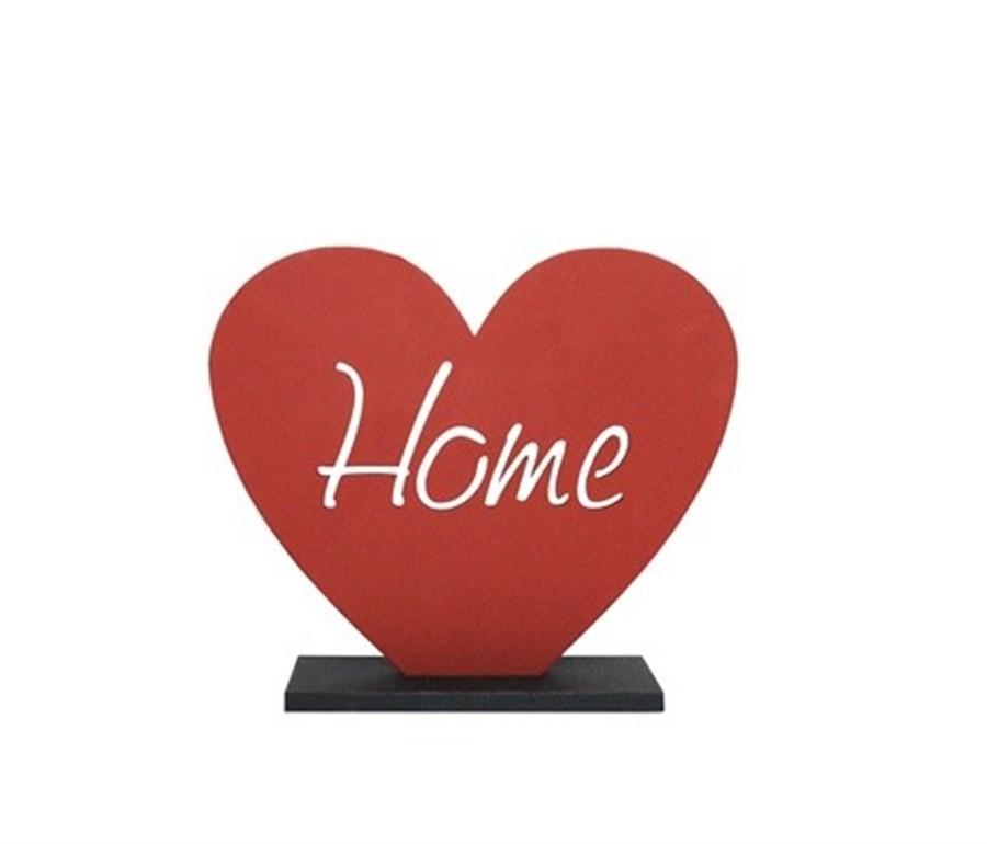 Peça Decorativa Coração Home