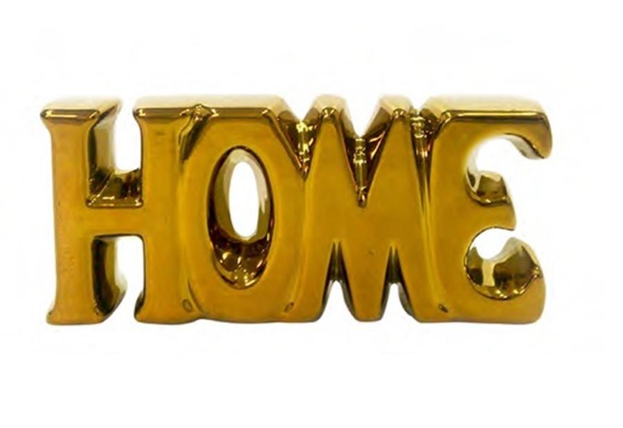 Decor Home Cerâmica Dourado