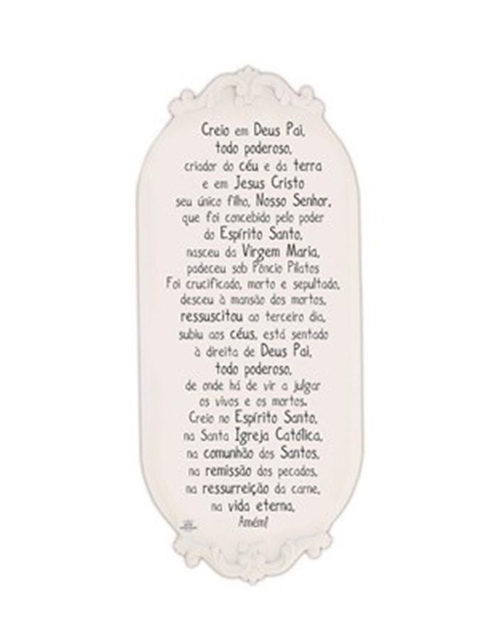 Quadro Provençal Creio em Deus pai...