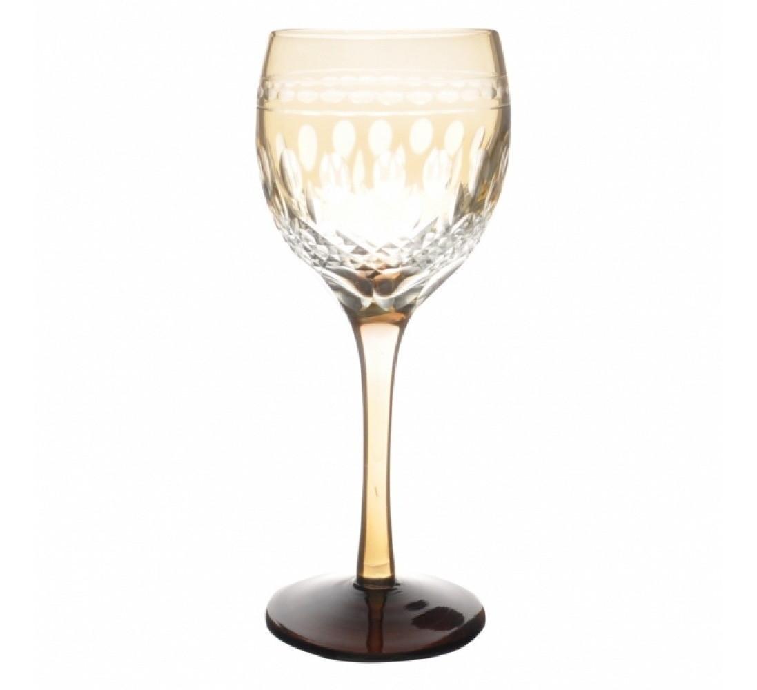 Taça de Cristal Coloridas Para Vinho - Âmbar