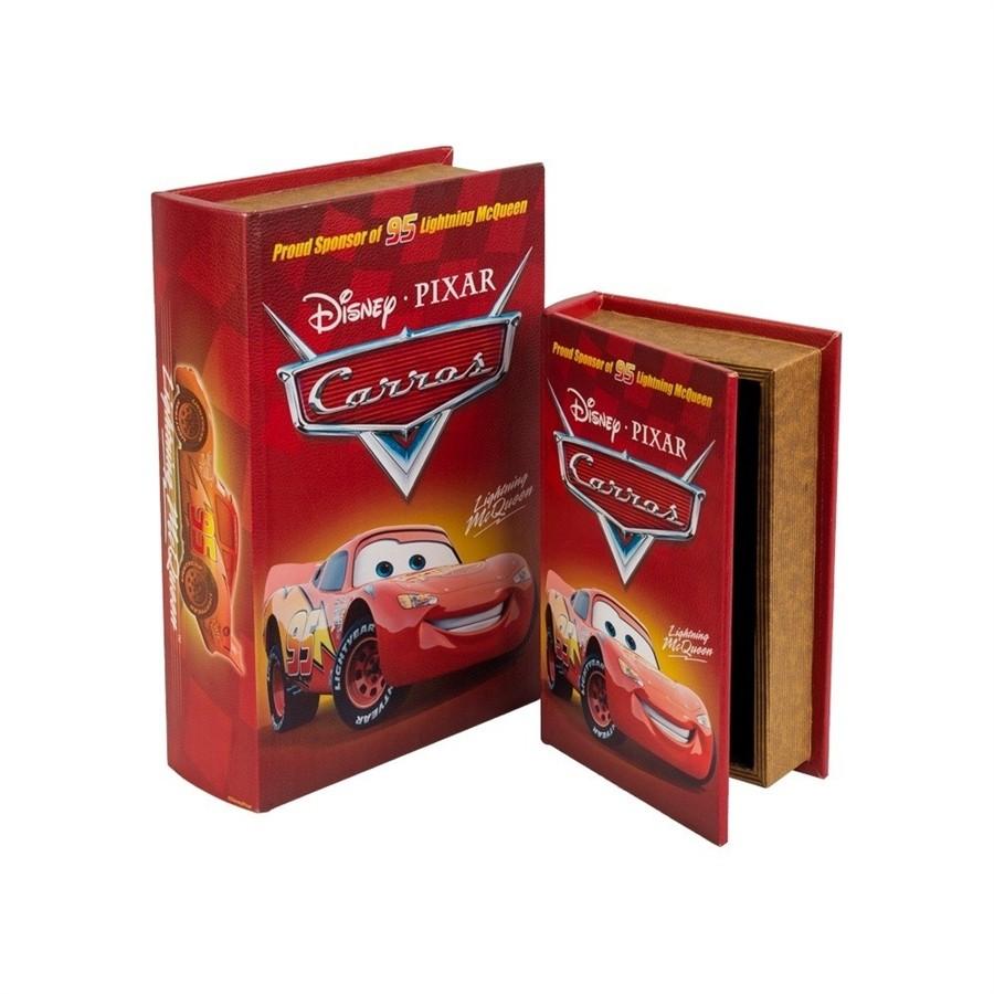 Caixa Livro Carros Disney