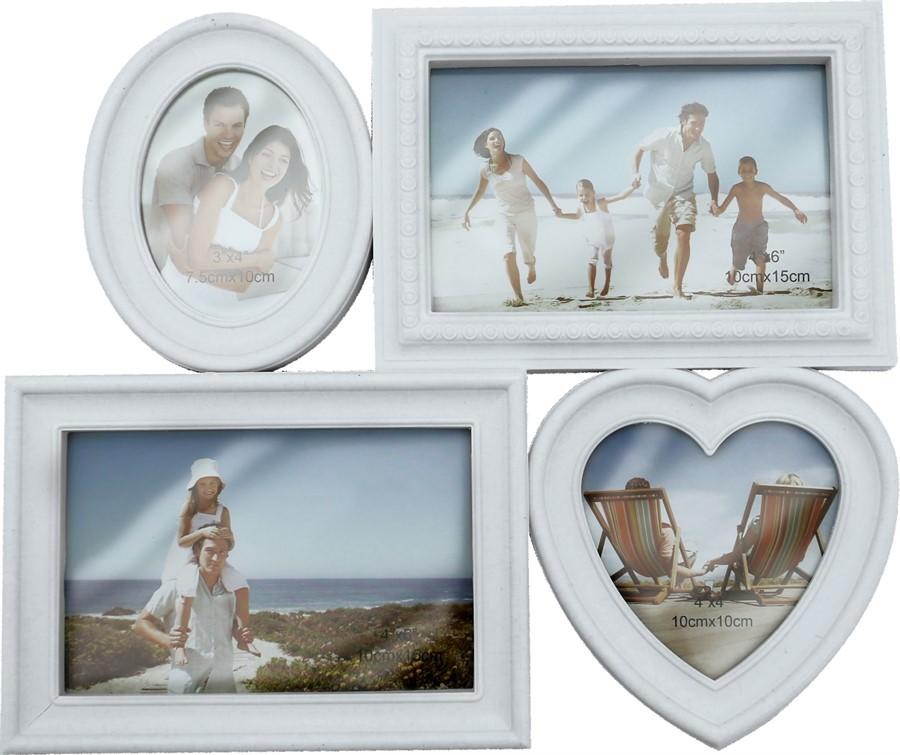 Porta Retrato Familia - 4 Fotos