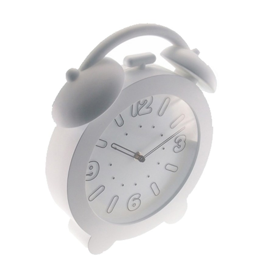 Relógio de Plástico Branco