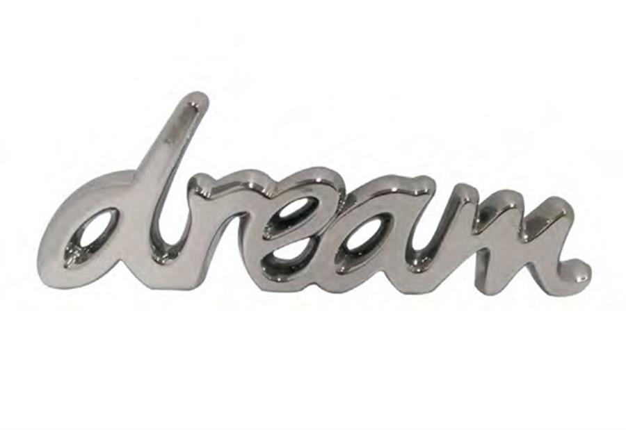 Decor Dream Prata Cerâmica G 43x15cm