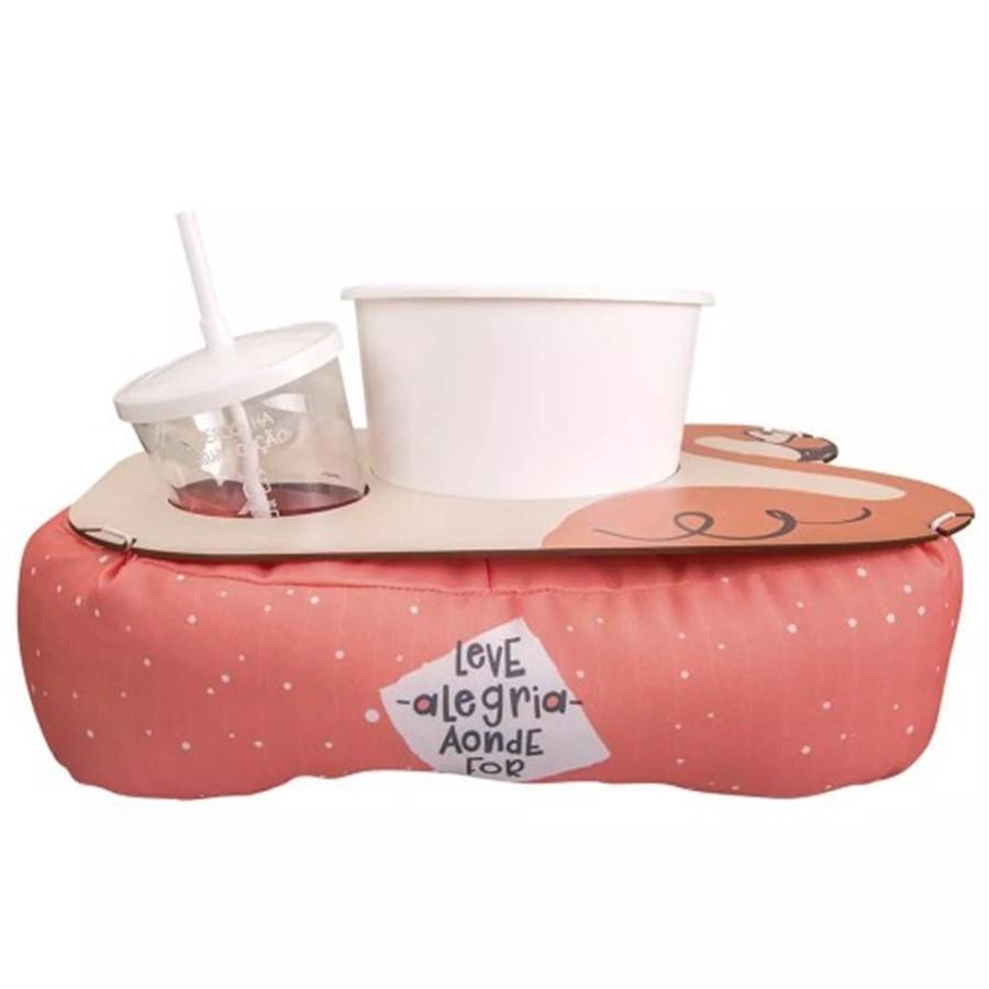 Almofada de Pipoca Shape Flamingo