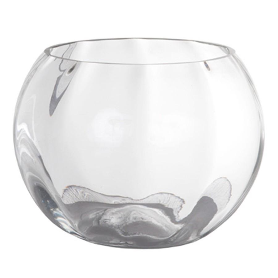 Vaso de Vidro Tangerine