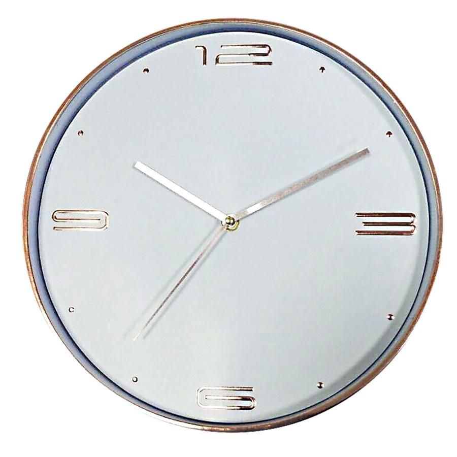 Relógio Parede Plástico Cobre Numbers Classic