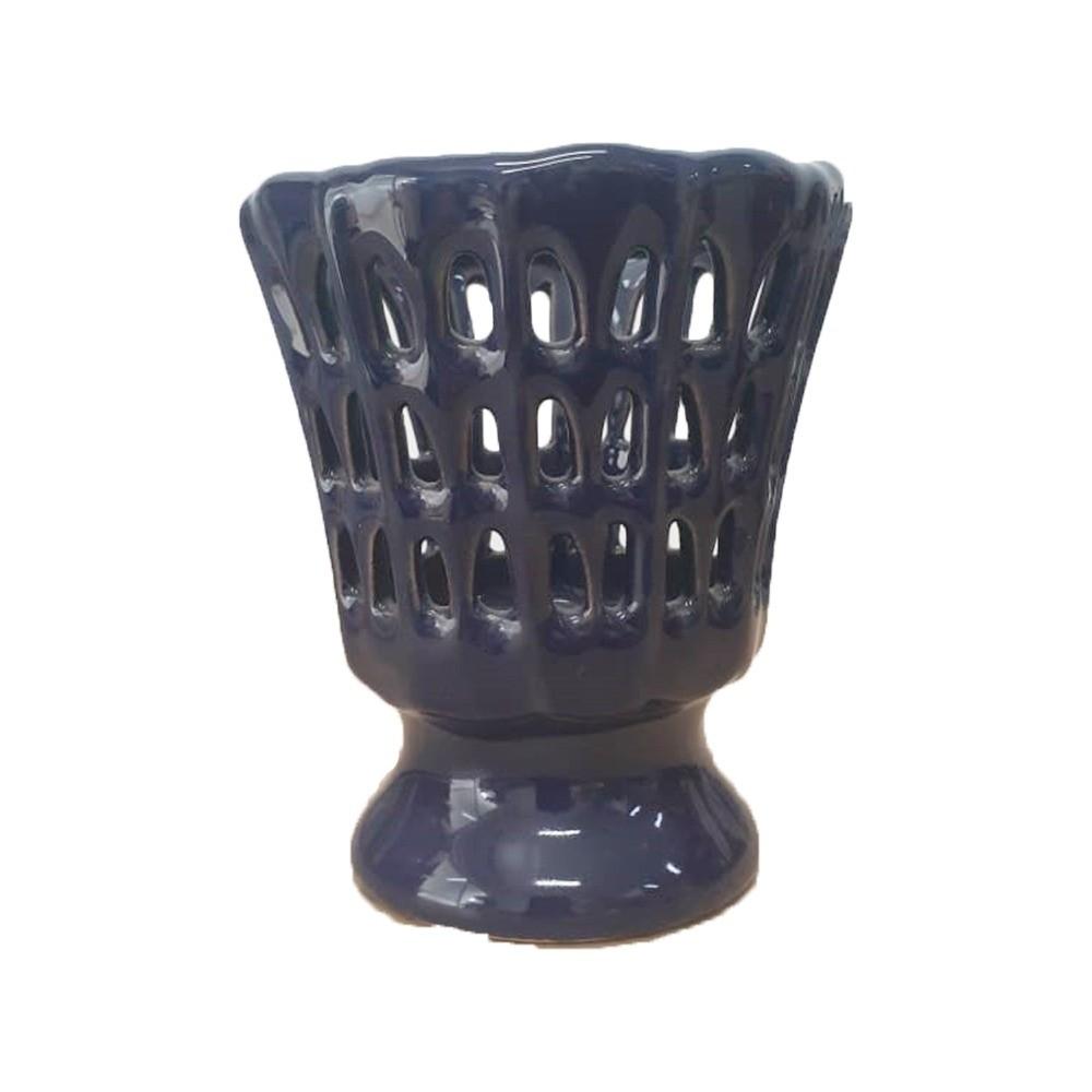 Cachepot Cestinha  Azul