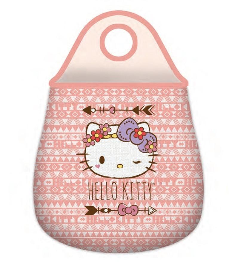 Lixeira Carro Hello Kitty