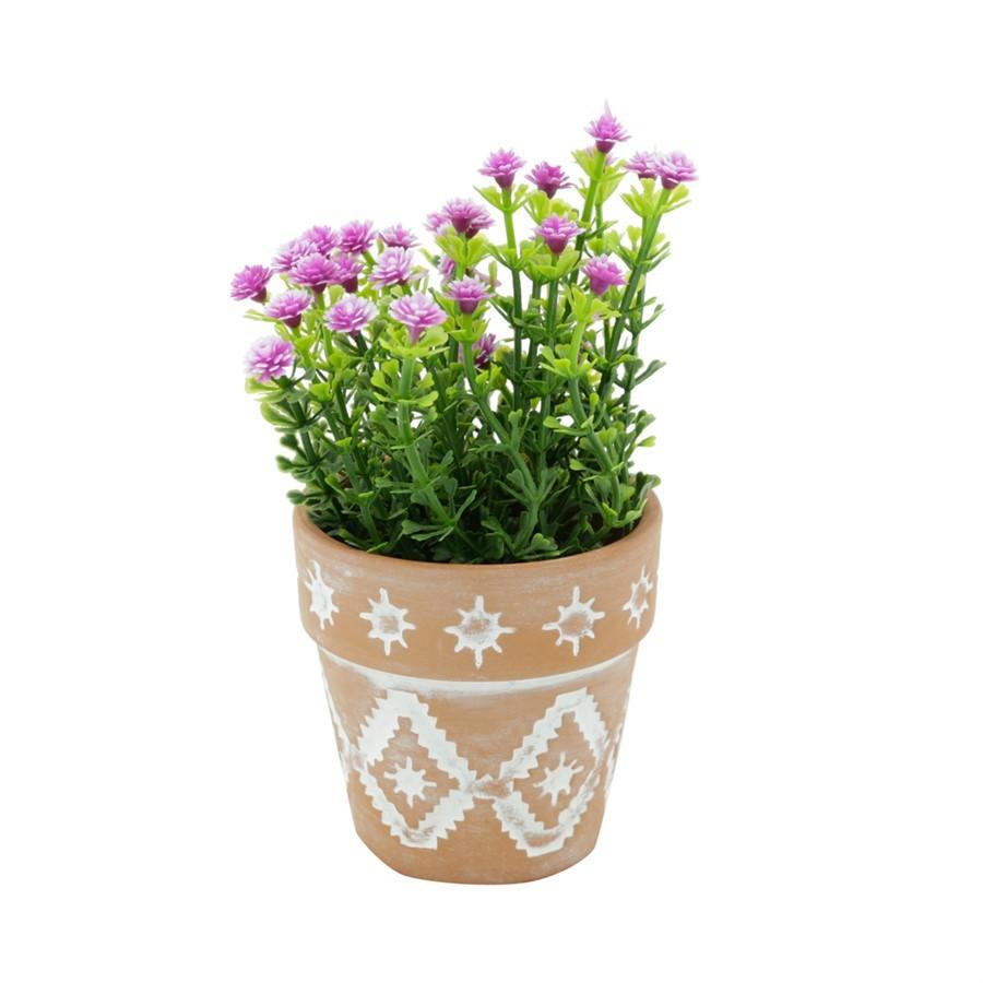 Mini Vaso Terracota Inca 7x7cm