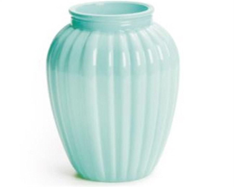 Vaso Oval Verde 10,5x8cm