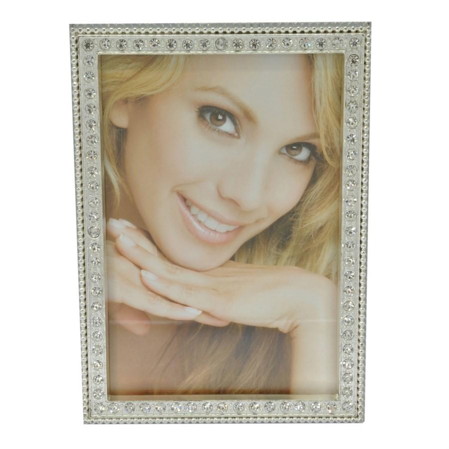 Porta Retrato com Cristais 10x15cm