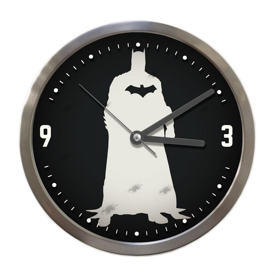 Relógio Parede Batman Preto 22 x 22cm